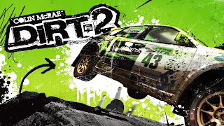 Colin McRae: DiRT 2 Logo Wallpaper