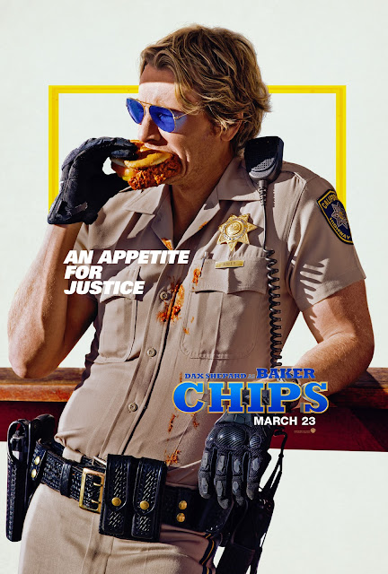 CHIPS Poster - Dax Shepard Solo