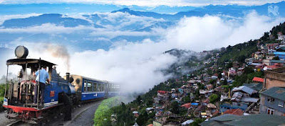 Darjeeling Toy Train or Himalayan Railway