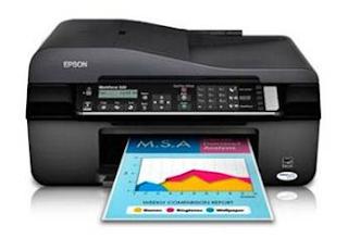 Epson WorkForce 525 Printer Driver Download