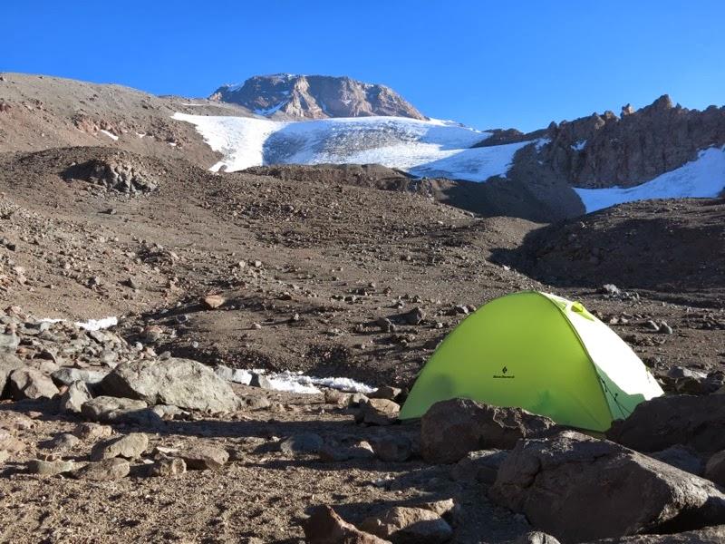 Das letzte Lager vor dem Gipfelversuch