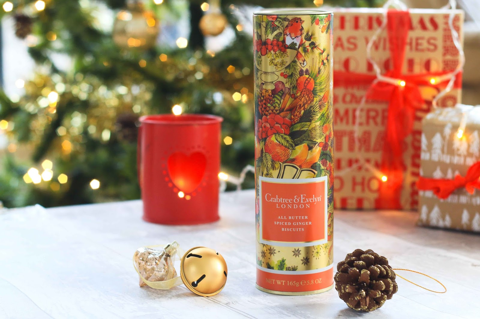 Crabtree and evelyn ginger biscuits