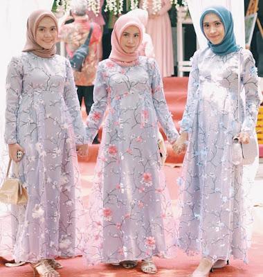 Baju Kebaya Muslim Terpisah