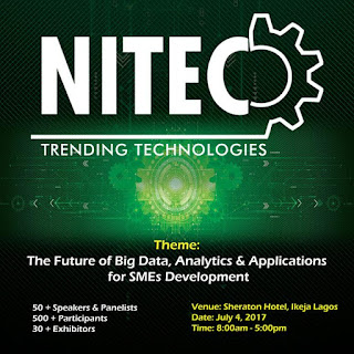 NITEC 2017: Dipo Faulkner, Pius Okigbo To Lead  Conversation On the Future of Big Data, Analytics for  SMEs
