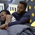 [VIDEO] #BBNaija - Watch BrightO and Wathoni enjoying eachother's company while under the sheets