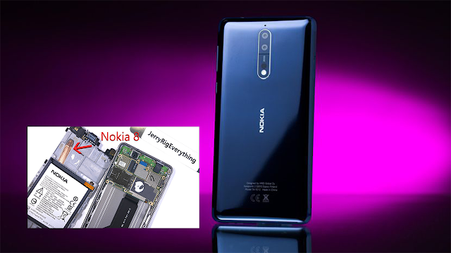 Nokia 8 e mai complicat de desfăcut, dar nu imposibil