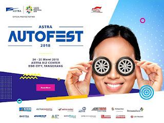 Kesempatan Kredit Mobil Murah Pada Acara Pameran Otomotif Astra 2018