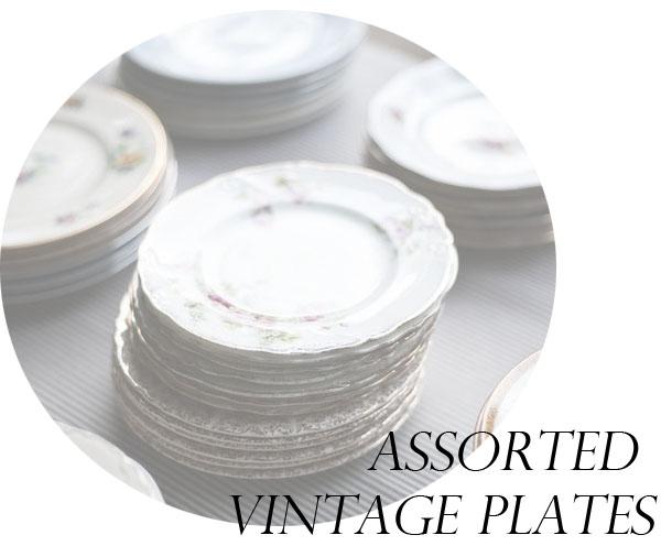 Assorted Vintage Plates