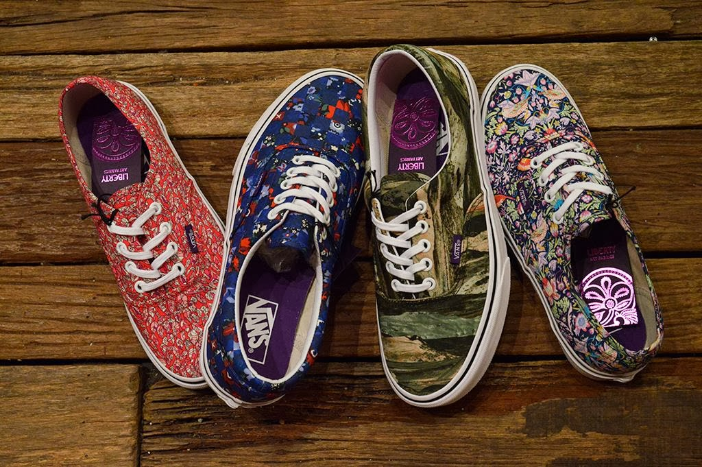 6ae84b5520 CROSSOVER  LIBERTY LONDON x VANS COLLECTION