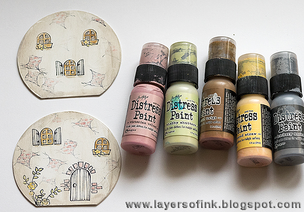 Layers Of Ink Fairy Tale Cottage Eileen Hull And