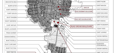 Lokasi Ruko ORCHID Citra Indah City