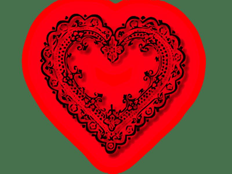 ZOOM DISEÑO Y FOTOGRAFIA: corazones con efectos png fondo