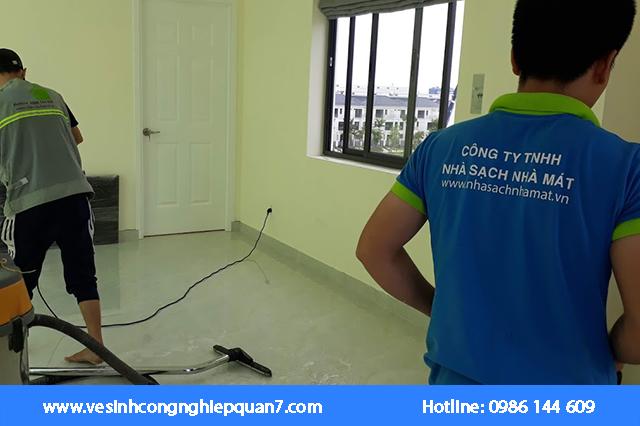 Quy trình thuê dịch vụ vệ sinh nhà mới quận 7 chuẩn đảm bảo giá tốt nhất