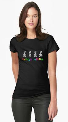 Manic Miner Black T-shirt for Women or Men