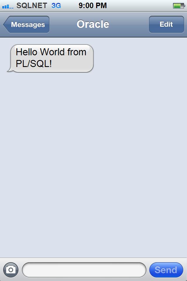 ORA-00001: Unique constraint violated: Sending SMS text