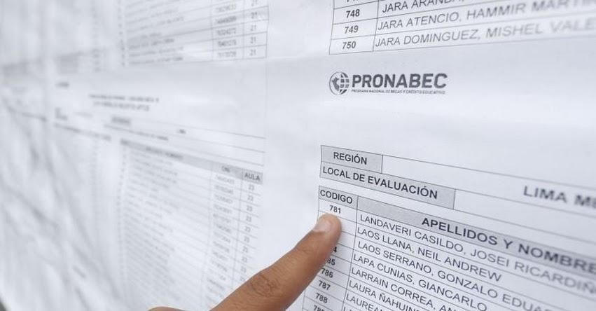 BECA 18: PRONABEC publicará lista de seleccionados el 13 de marzo 2020