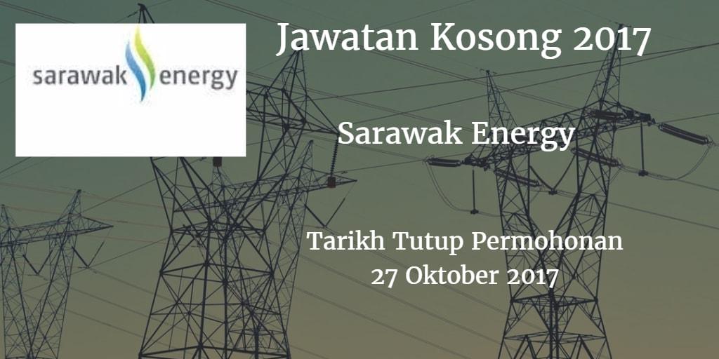 Jawatan Kosong Sarawak Energy 27 Oktober 2017