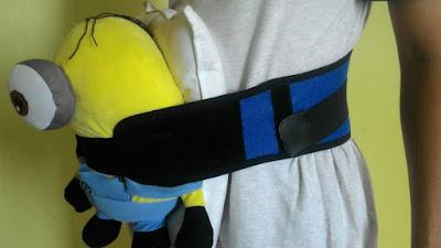 contoh extender baju support tulang belakang