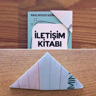 Origami İle Kağıttan Kitap Ayracı Yapımı