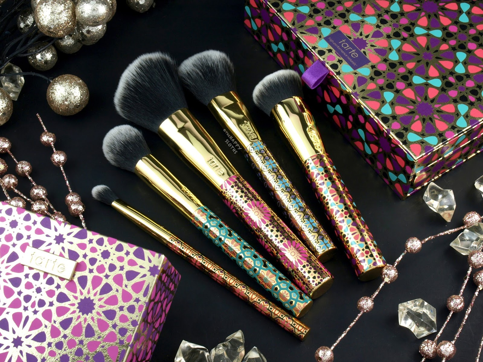 Tarte Holiday 2017 Treasured Tools Brush Set | Review and Swatches