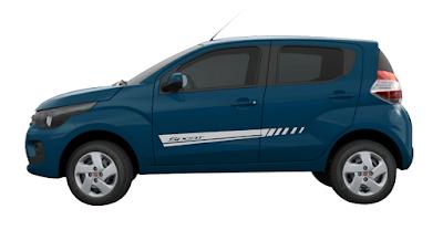 Kit adesivo Fiat Mobi lateral X11Auto