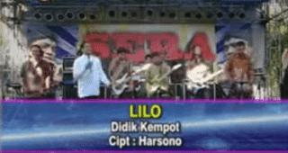 Lirik Lagu Lilo - Didi Kempot
