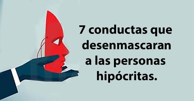 7 conductas de las personas hipócritas que los dejan al descubierto