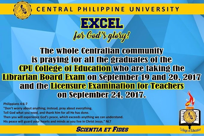 2017 Board exam for librarians