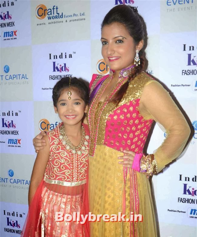 , Celebs at India Kids Fashion Week 2014