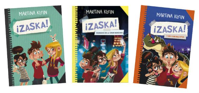 colección zaska, portada cuentos, libros infantiles