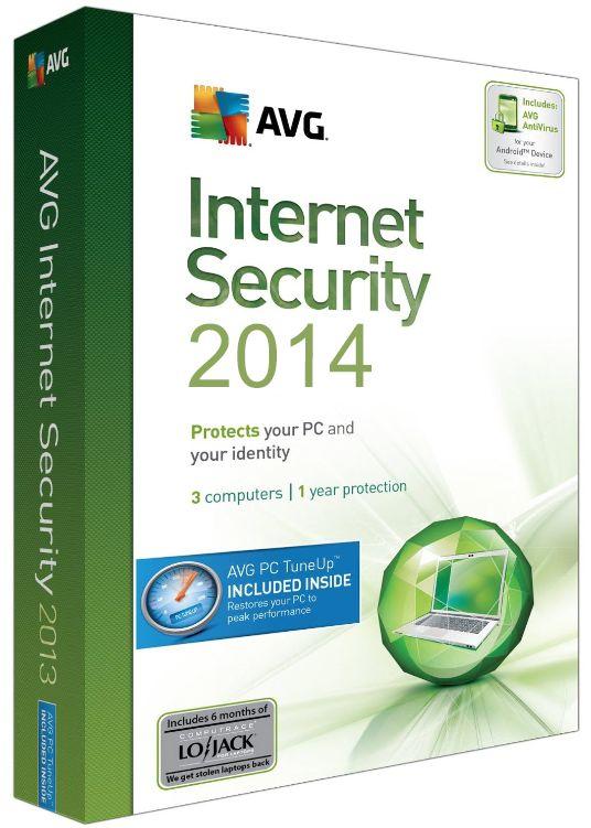 Download AVG Internet Security 2014 + Ativação (x84 e x64)