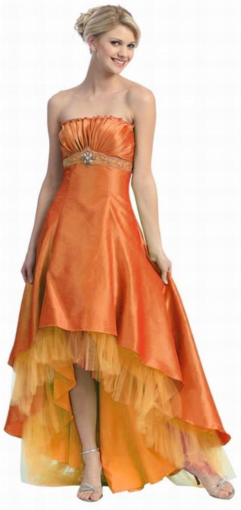 Orange Bridesmaid Dresses : Have your Dream Wedding