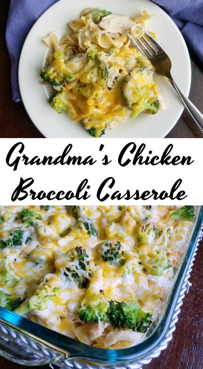 Chicken And Broccoli Bake Recipe