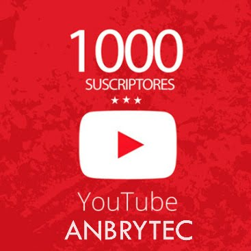 Ya somos 1000 en YouTube