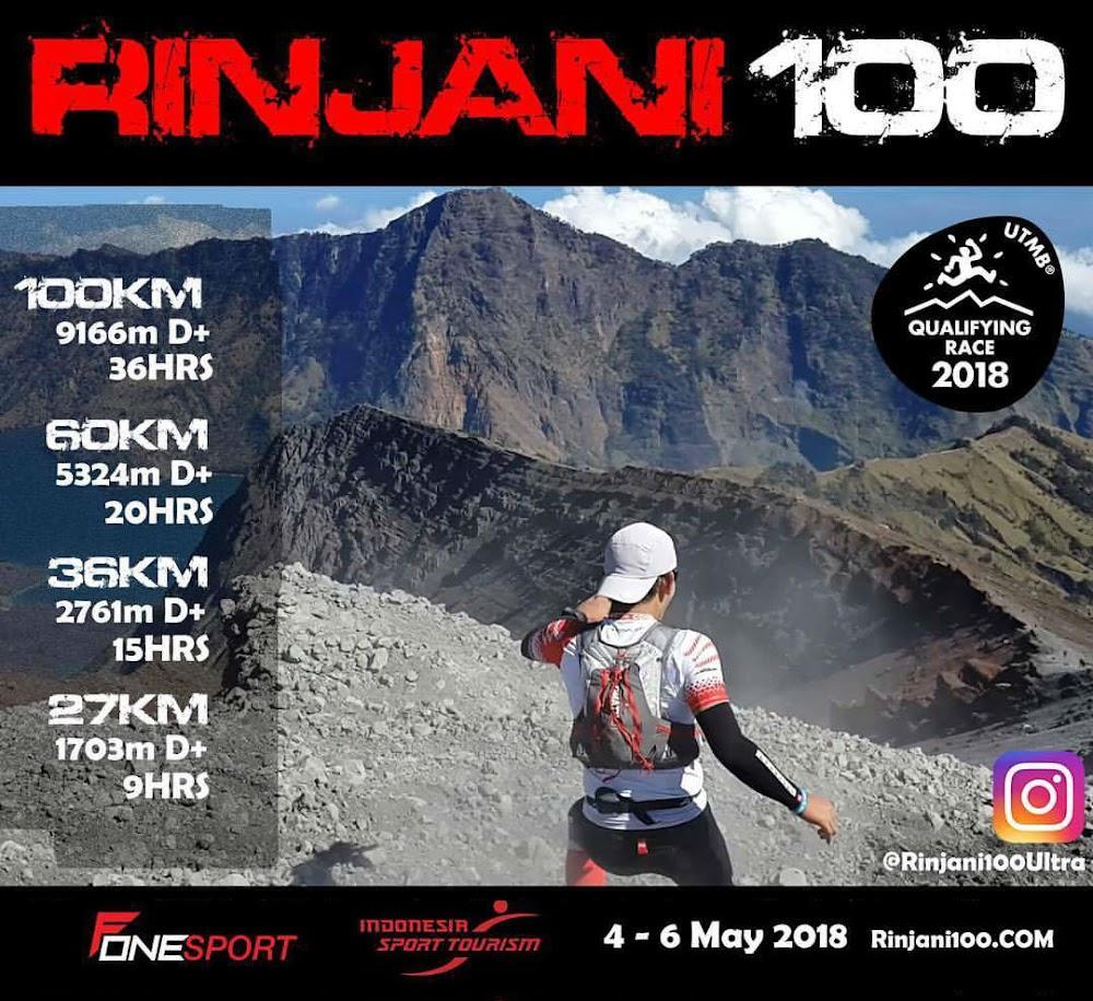 Rinjani 100 • 2018