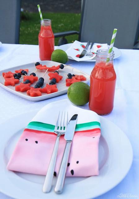 Wassermelonen - Gartenparty