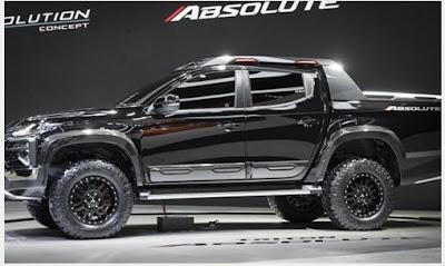 Spesifikasi Reveiew Lengkap dan Harga New Mitsubishi Triton Absolute 2019