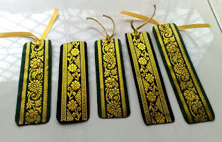 Saree border recycle bookmarks