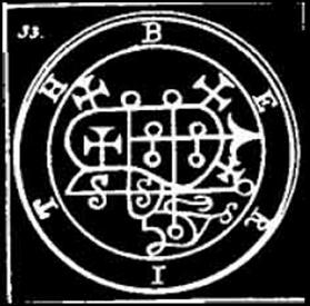berith, sigilo, goetia, daemon, ocultismo