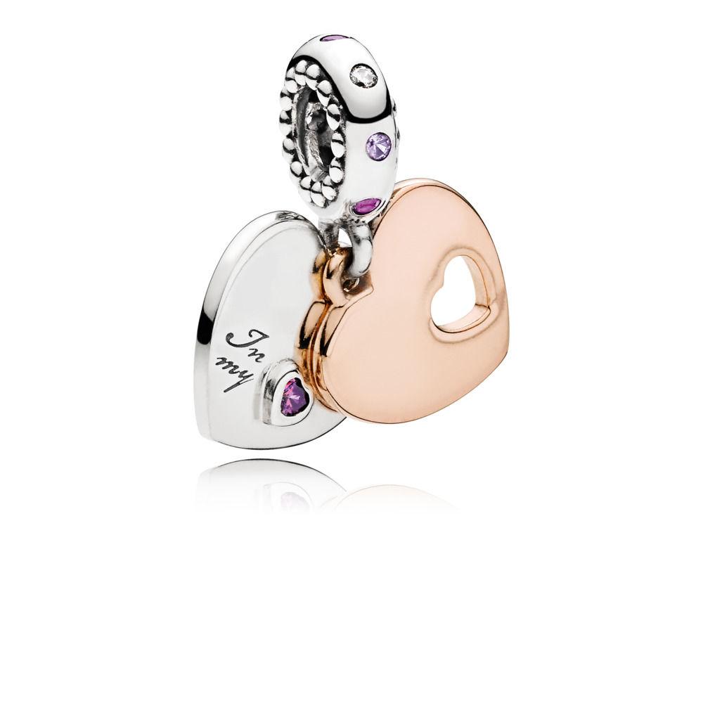 Pandora Silver Heart Ring Uk