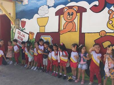 Colégio Santa Joana D'Arc recebe de braços abertos os alunos para a abertura do ano letivo de 2018