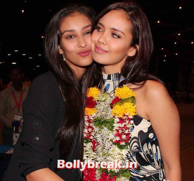 Navneet Kaur Dhillon and Megan Young, Miss World 2013 Megan Young in India