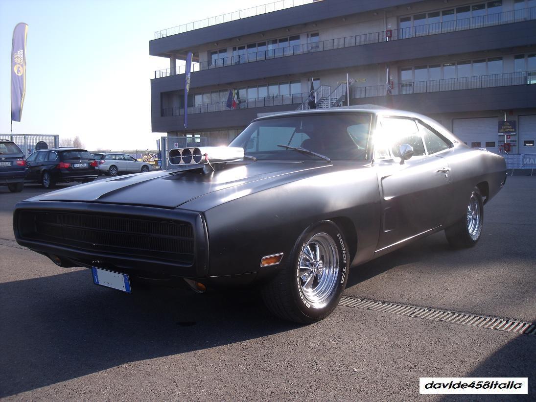 Dodge Charger 1969 Matte Black
