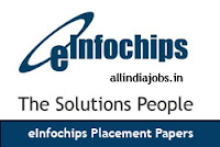 eInfochips Placement Papers