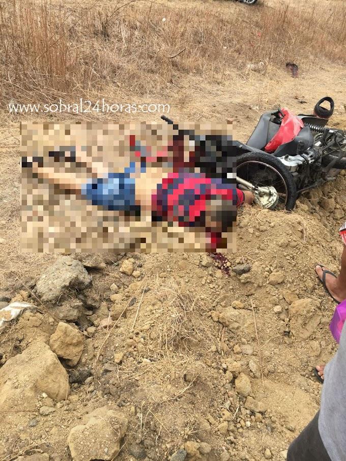 Acidente com vítima fatal é registrado na estrada liga Sobral a Groaíras