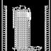 مخطط عمارة سكنية من عدة طوابق اتوكاد dwg