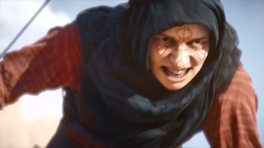 Woman from Battlefield 1 trailer