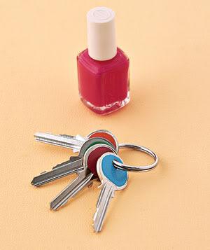 reutilizar el esmalte de uñas
