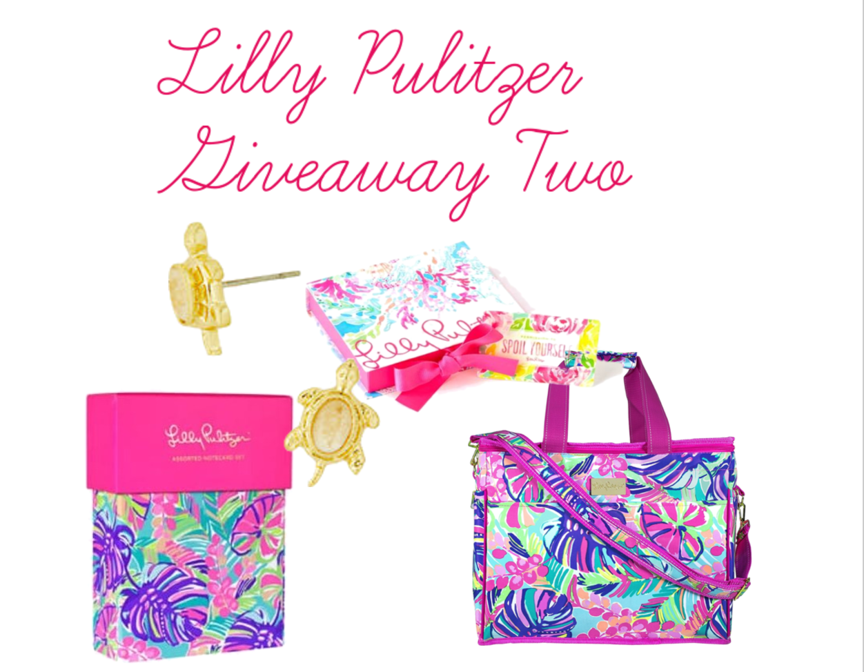 Included In This Giveaway Is A $50 Lilly Pulitzer Egift Card, Insulated  Beach Cooler, A Pair Of The Slow Poke Turtle Earrings, And This Adorable  Note Card