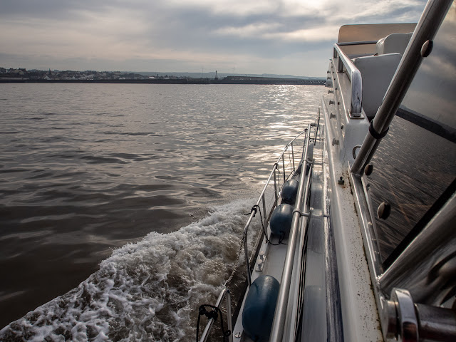 Photo of Ravensdale returning home to Maryport